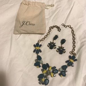 Jcrew Necklace and Earring Set